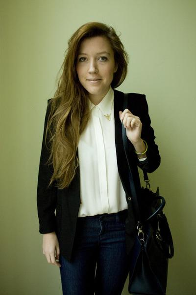 Zara jeans - Mango blazer - sac danvers bag - Zara blouse
