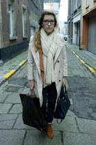 H&M shoes - H&M coat - Bershka jeans - H&M blazer