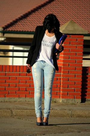 shirt - jeans - blazer