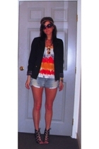 forever 21 blazer - Cherish shirt - Aldo shoes