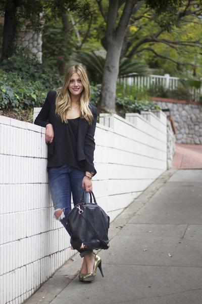 Gap jeans - Rebecca Minkoff blazer