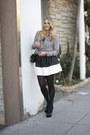 Light-pink-rebecca-taylor-blouse-black-asos-skirt