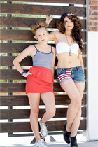 All American Girls: DIY Flag Shorts