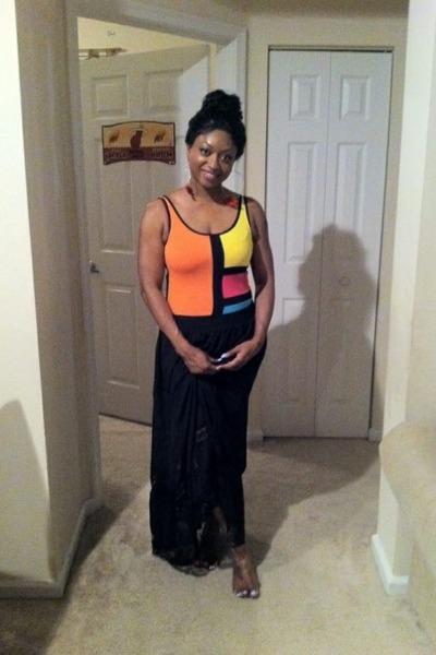 bodysuit - skirt