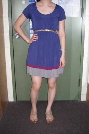 Jimmyz dress - Old Navy belt - Target shoes