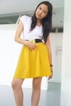 Topshop t-shirt - Bayo belt - skirt