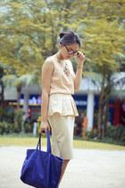 Berrybenka skirt - Zara bag - OASAP top