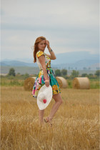 Fashion House Lanys dress - Benvenuti flats - Bershka belt