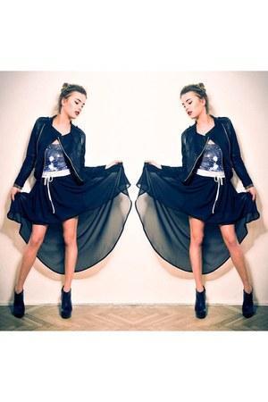 teal BlackMilk dress