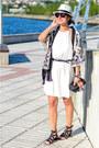 Bershka-dress-simplemente-luna-jacket-six-bag-asos-sandals