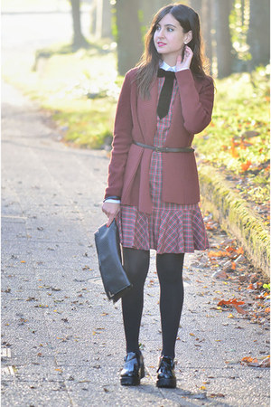 Ralph Lauren dress - Forever 21 jacket - asoscom bag - accessories - asos flats