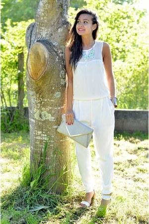 Zara sandals - Primark bag - Bershka necklace - Zara bodysuit
