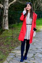 pull&bear dress - Elogy coat - Rodenstock sunglasses - Stradivarius heels
