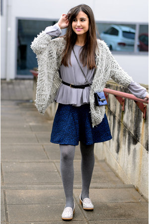 Trucco skirt - colett jacket - Mango bag - Missguided loafers