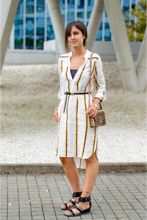 H&M dress - suiteblanco bag - Deichmann sandals