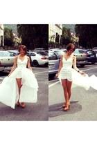 tailor made dress - Stradivarius heels