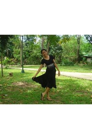 blackcotton patong blouse