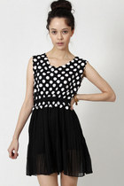 polka dot DIDD dress