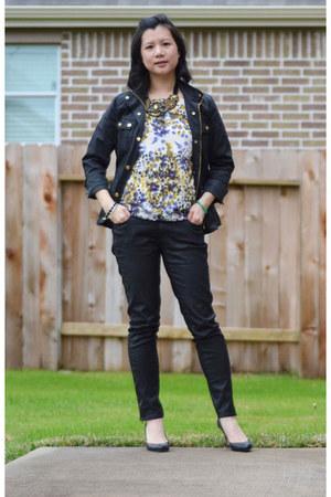 field jacket J Crew jacket - Ann Taylor Loft shirt - Zara pants