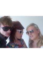 Topshop jacket - Topshop sunglasses - dress