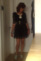 Topshop dress - Topshop belt - Urban Outfitters - Topshop