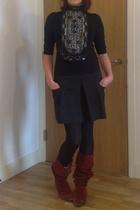 allsaints - top - Lux skirt - patrick cox