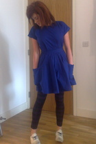 Topshop dress - H&M - walk