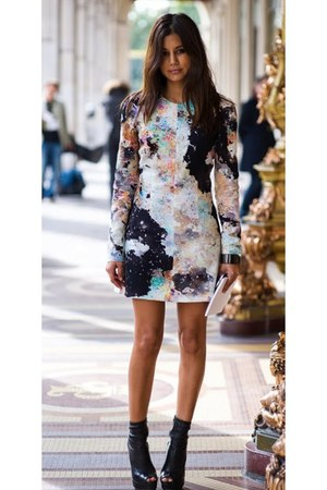 leather boots Gucci boots - dress josh goot dress