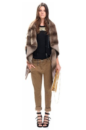 faux fur Pinko jacket