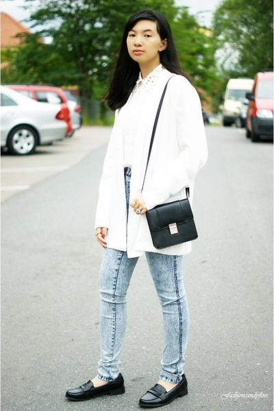 white GINA TRICOT blazer