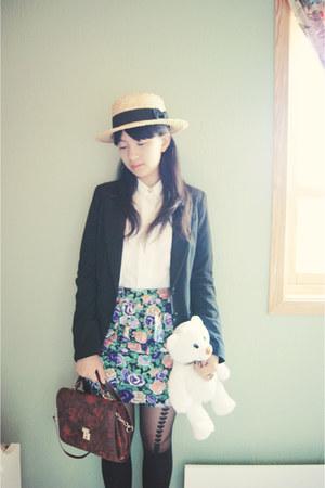 skirt - hat - bag