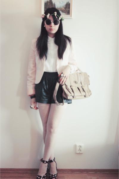shorts - blazer