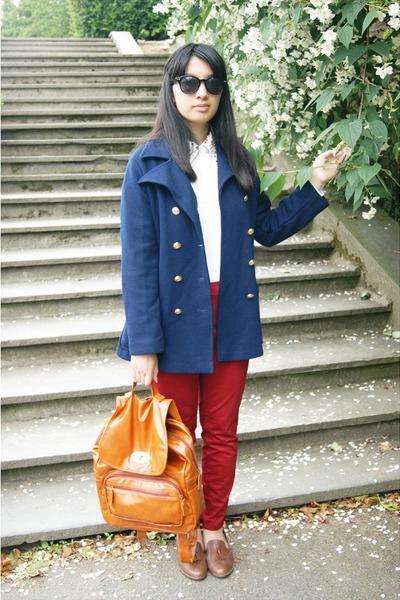 blue flea market coat