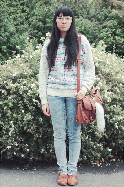 sweater - jeans
