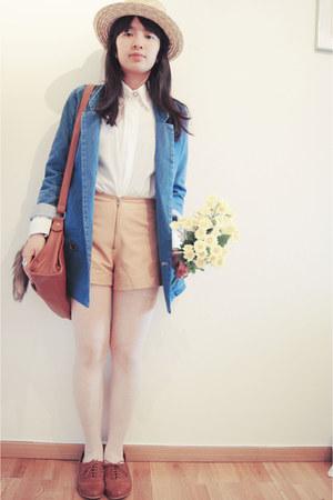 blazer - shorts