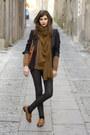 Zara-leggings-prada-bag-topshop-loafers