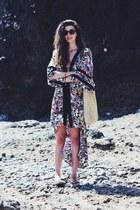 printed kimono Primark vest