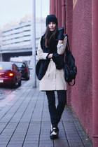 beige Armani Exchange coat
