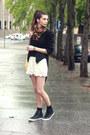 Zara-jacket-h-m-scarf-converse-sneakers