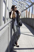 Zara jeans - shirt - flats