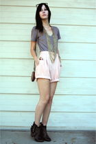 vintage shorts - Anthropologie accessories