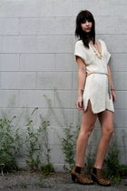vintage dress - Jeffrey Campbell boots - vintage accessories