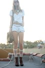 Steve-madden-boots-anthropologie-shirt-vintage-diy-shorts