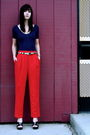 American-apparel-blouse-vintage-pants-nine-nest-shoes-vintage-belt