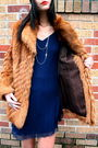Vintage-coat-vintage-dress-forever-21-boots-forever-21-accessories