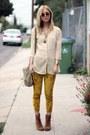 Lace-up-dolce-vita-boots-crushed-velvet-vintage-pants