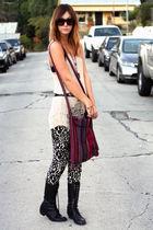 pants - boots - top - necklace