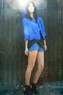 Vintage-blazer-vintage-top-vintage-shorts