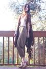 Vintage-pants-nude-american-apparel-bodysuit-vintage-cardigan