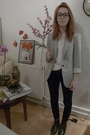 Black-topshop-jeans-silver-zara-blazer-white-vintage-blouse-black-vintage-